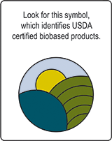 usda certified biobased product logo